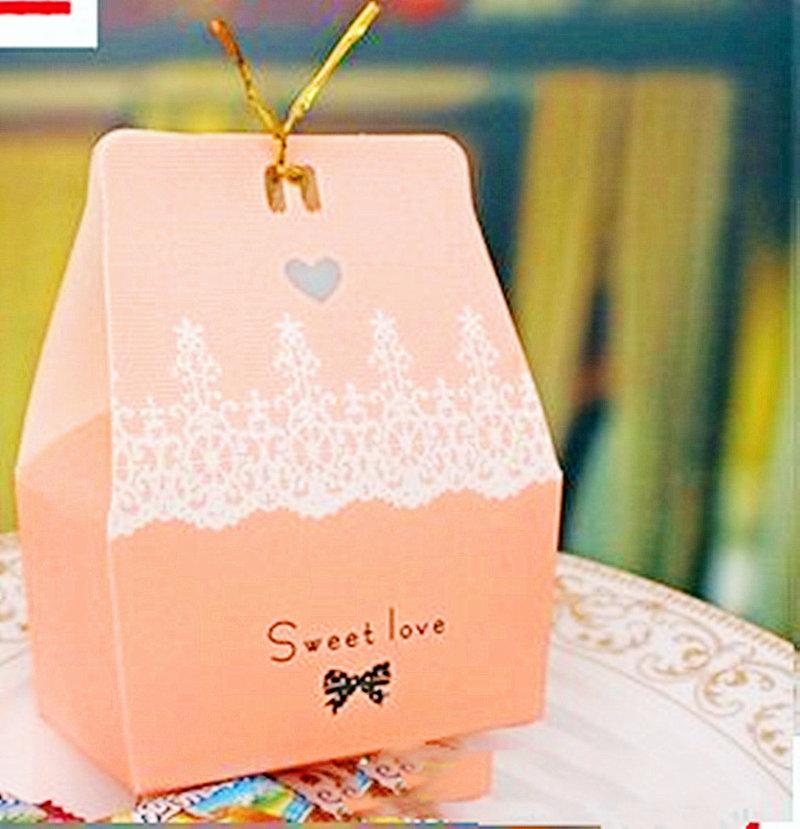 甜蜜小屋囍糖盒 紙糖盒 糖果盒 禮物盒
