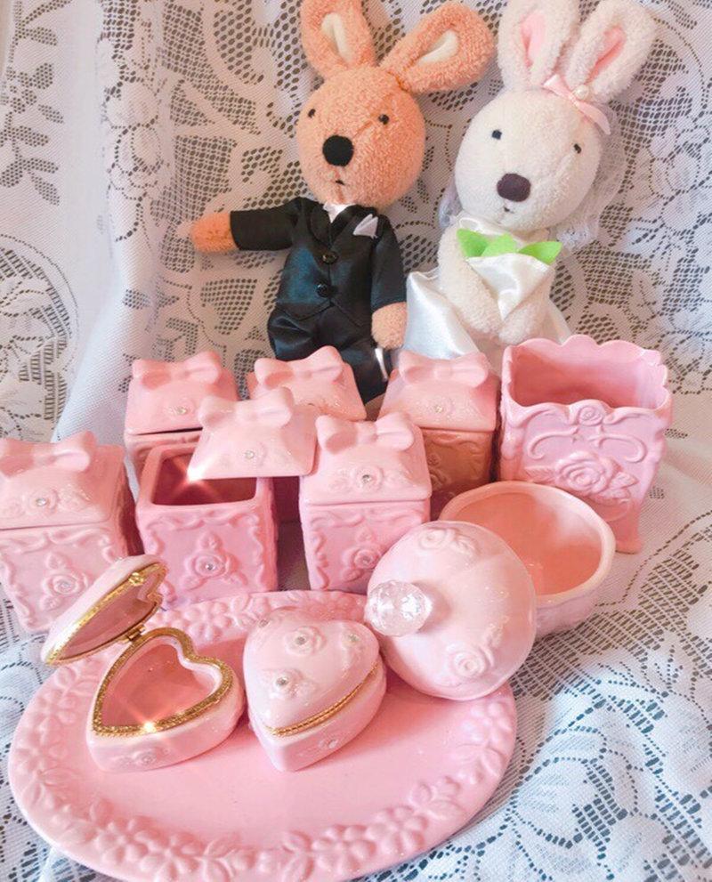 溫柔浪漫粉紅公主風 會場布置 道具佈置