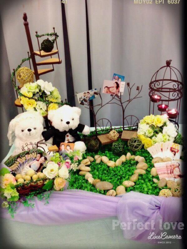 真愛婚紗熊/婚禮熊-婚禮道具佈置組出清作品