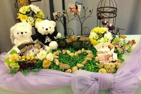 真愛婚紗熊/婚禮熊-婚禮道具佈置組出清