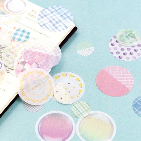 十二種甜味系列和紙貼紙包 貼紙