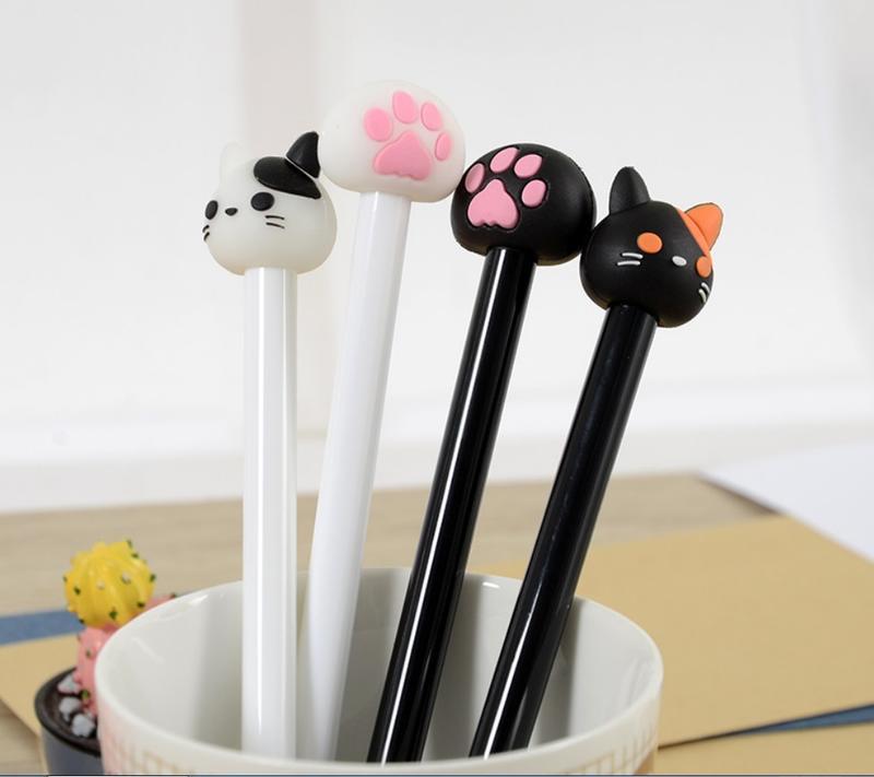 正含版-可愛肉掌 創意文具貓咪  中性筆