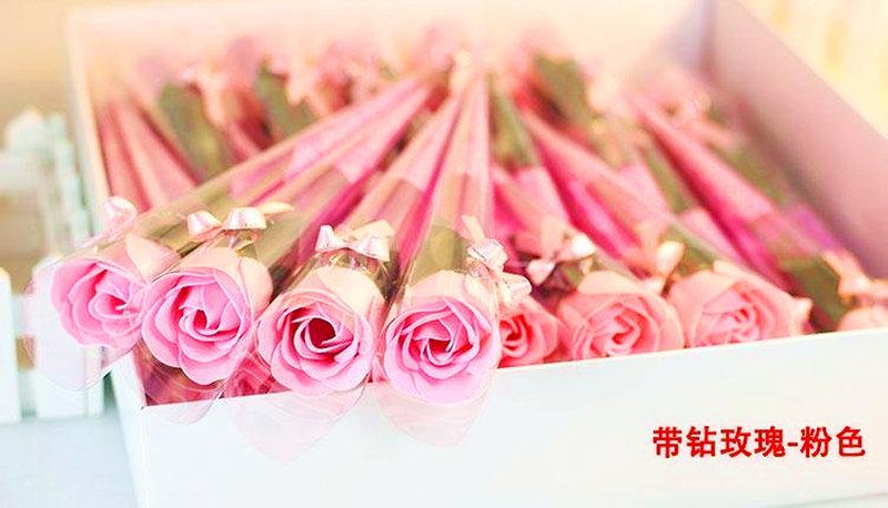 玫瑰花束 多款式單色與三色玫瑰花 玫瑰仿
