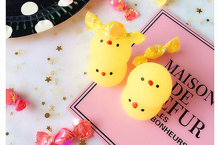 創意減壓發洩球 黃色小雞捏捏樂 可愛捏捏叫
