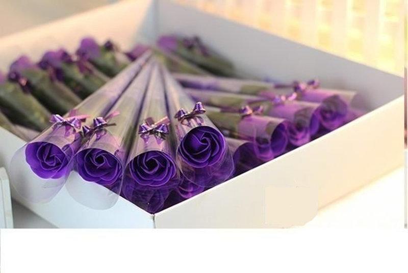 玫瑰花束 玫瑰皂花束 仿真花束 香皂花束作品