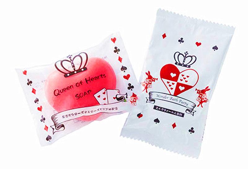 日本進口 愛麗絲夢遊仙境 造型香皂組合