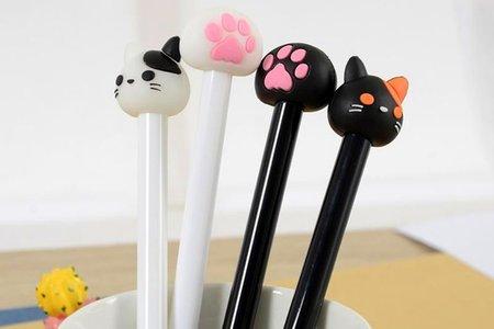 沁琳婚禮 新進小物 動物中性筆 可愛萌貓中性筆