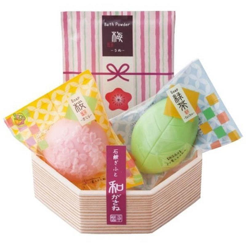 日本製 日式和風 和果子造型香皂禮盒組
