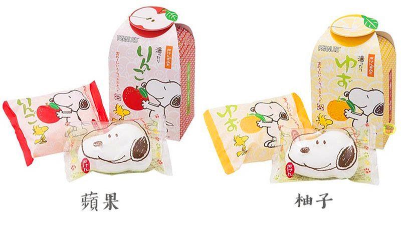 日本進口史奴比造型香皂組合