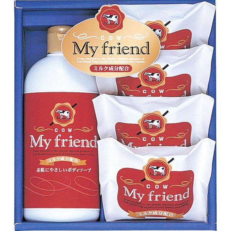 日本製 COW牛乳石鹼 禮盒組 內含牛乳