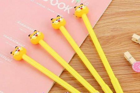 可愛討喜圓眼睛肉身材經典不敗加菲貓中性筆