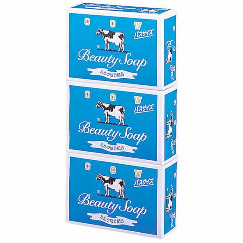 日本製造單顆盒裝香皂組3盒一組-藍色
