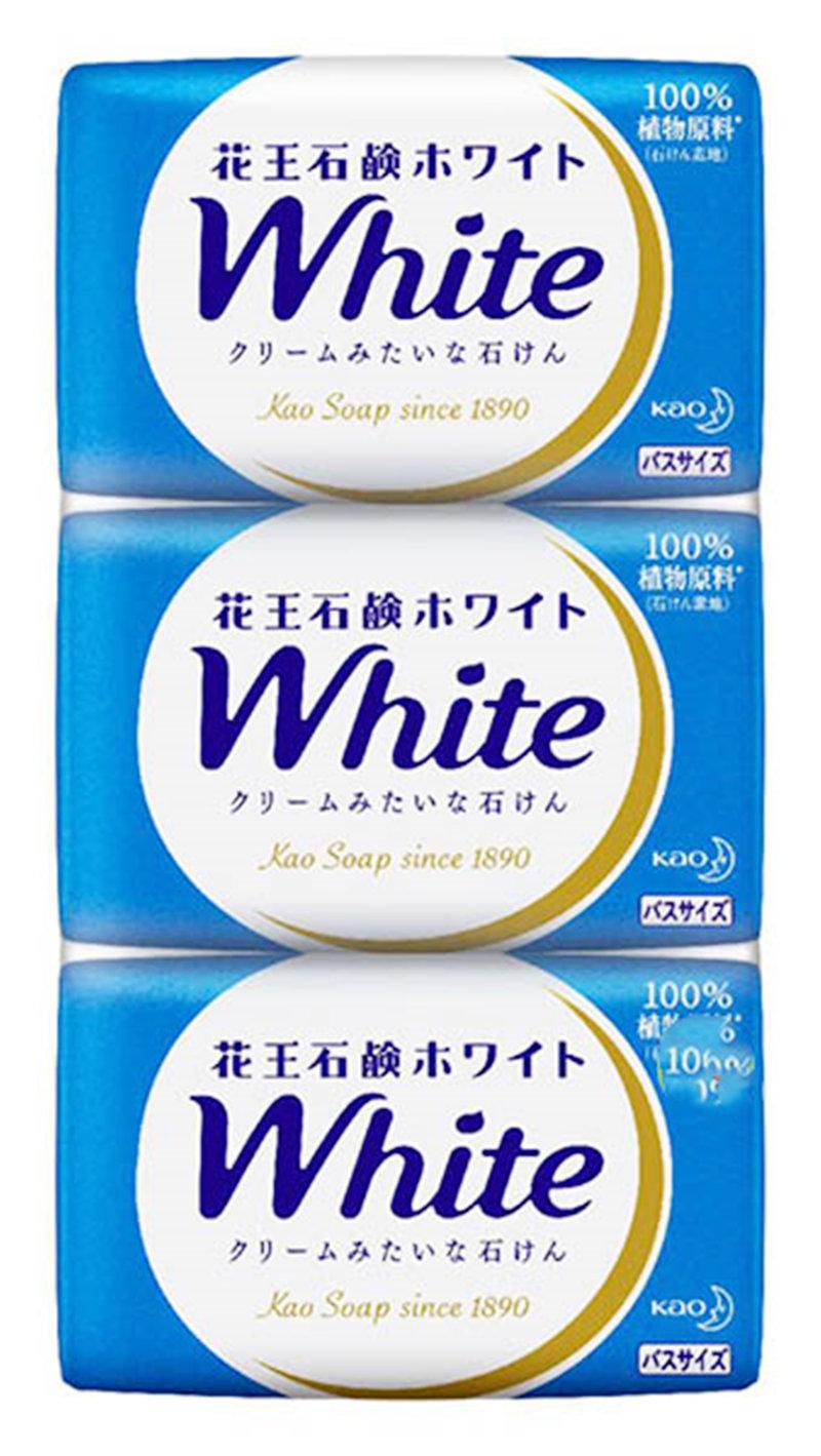 日本進口 花王kao White 香皂禮