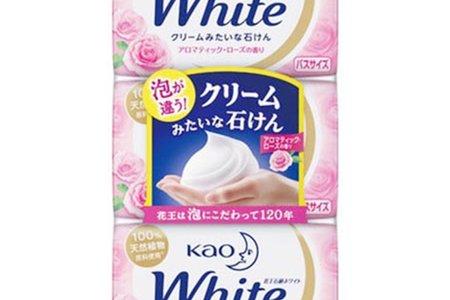 日本進口 花王kao White香皂-大