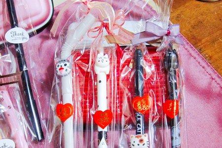 沁琳婚禮 小物 禮品 韓版創意動物造型中性筆 各包裝照