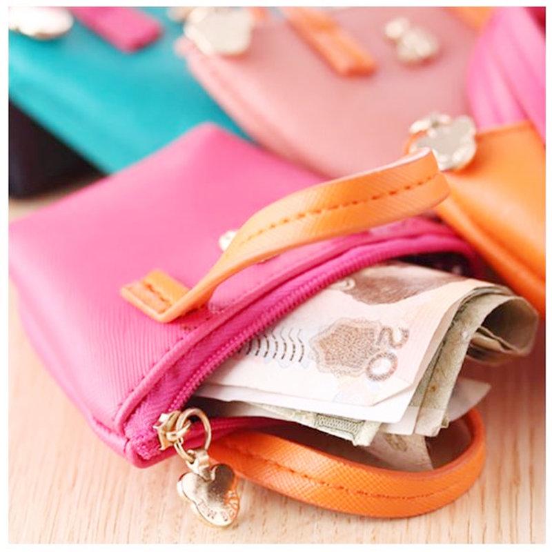 #韓式零錢包 #韓風零錢手提包#小零錢包