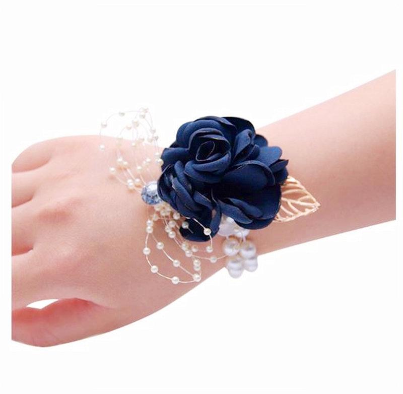 現貨優質 限量韓式手腕花 高級清新新娘手