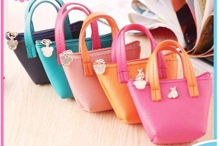 沁琳婚禮韓式手拎包 可愛零錢包 手拎皮質