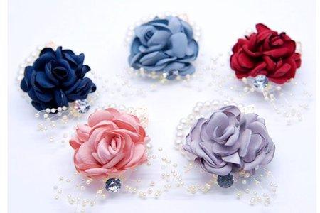 預訂制 優質韓式手腕花 高級清新新娘