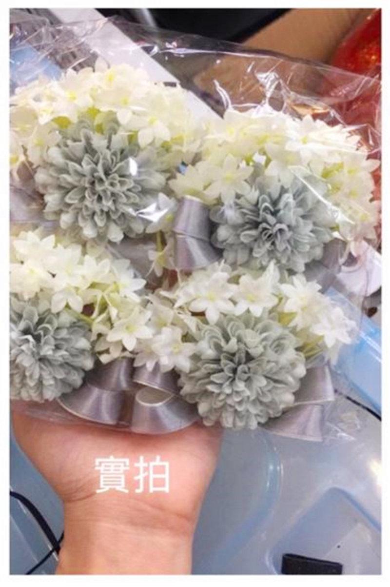 韓式名媛風-結婚~姐妹手腕花新人伴娘必備