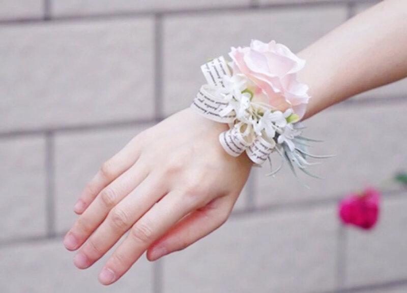 少量現貨 歐美風~典雅新娘手腕花