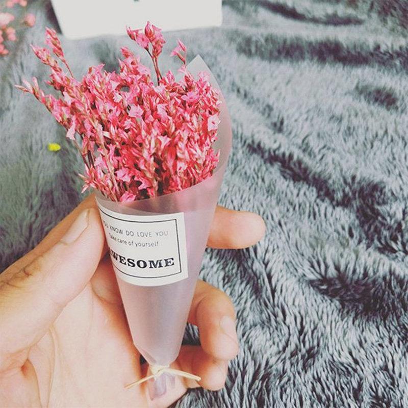 迷你乾燥/水晶草花束/拍照道具