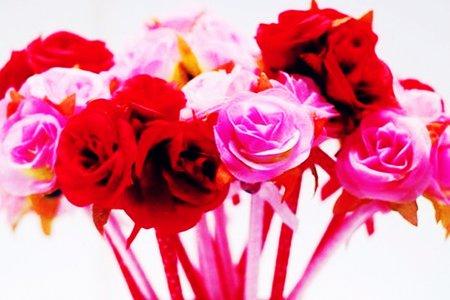 沁琳婚禮小物 沁琳婚禮品 3朵花束筆 台灣設計製造 送客禮 二進禮