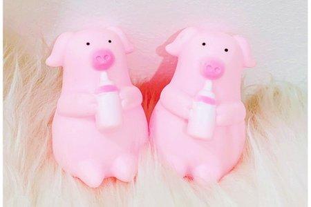 日韓可愛發泄小團子 萌萌噠奶瓶小豬嗶嗶叫
