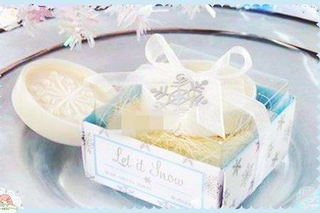 最新包裝歐美 雪花香皂 香皂禮盒 優惠中