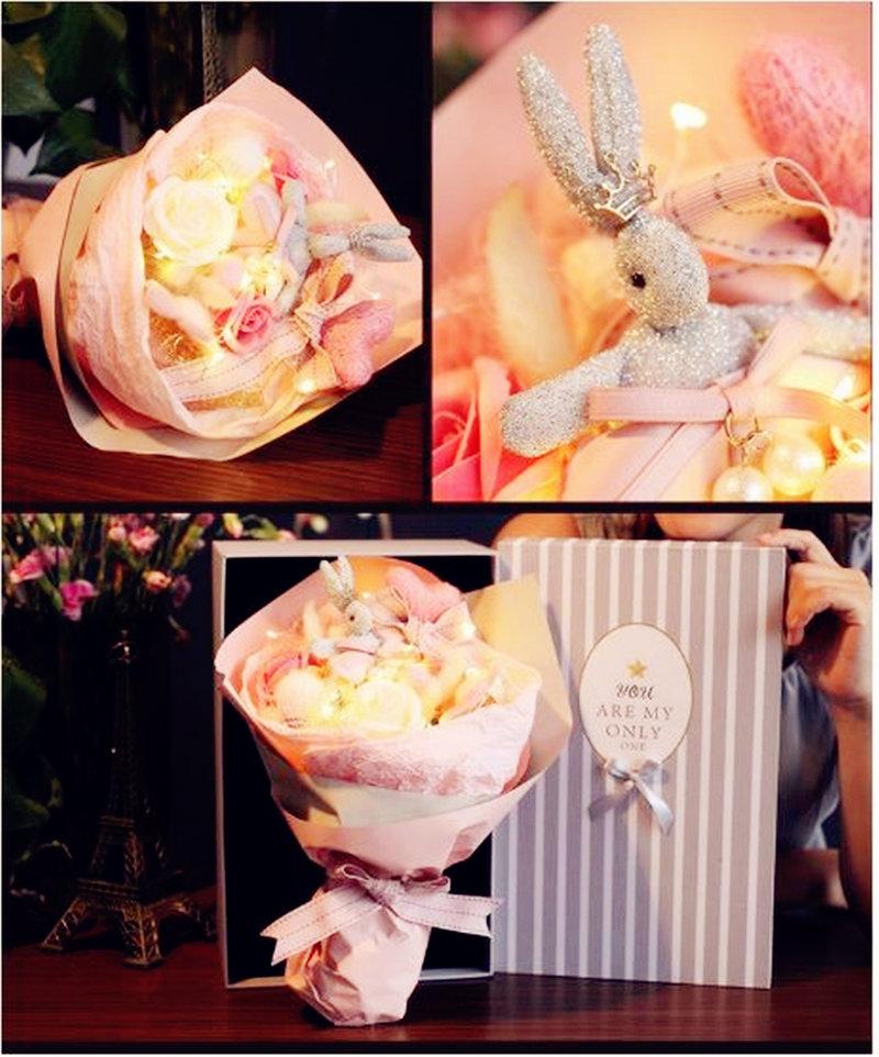 LED燈求婚花束禮盒 告白花束