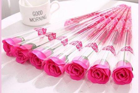 玫瑰花束加厚款-新品 現貨 情人節 婚禮小物 情人節 來店禮 活動贈品 香皂花束 採購 批發