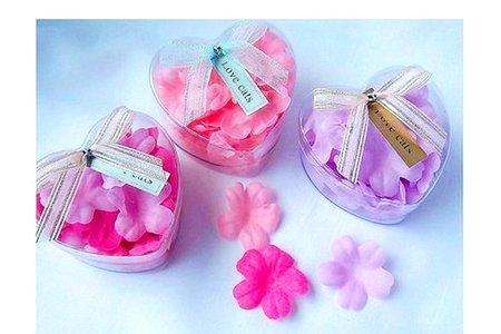 香皂花小提籃 立體花瓣 香皂花 送客小禮