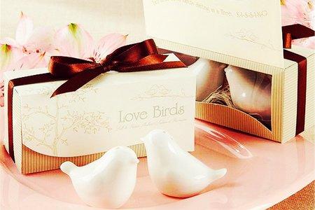 愛情鳥調味罐 探房禮 捧花抽獎 桌上禮