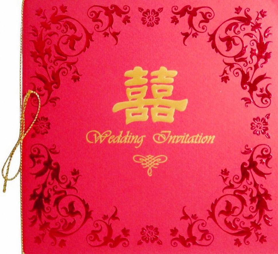 【燙金喜帖、手工喜帖、平價喜帖、長輩帖、平輩帖】-紅 - 沁琳創意小物 禮俗用品/活動禮/贈品《結婚吧》