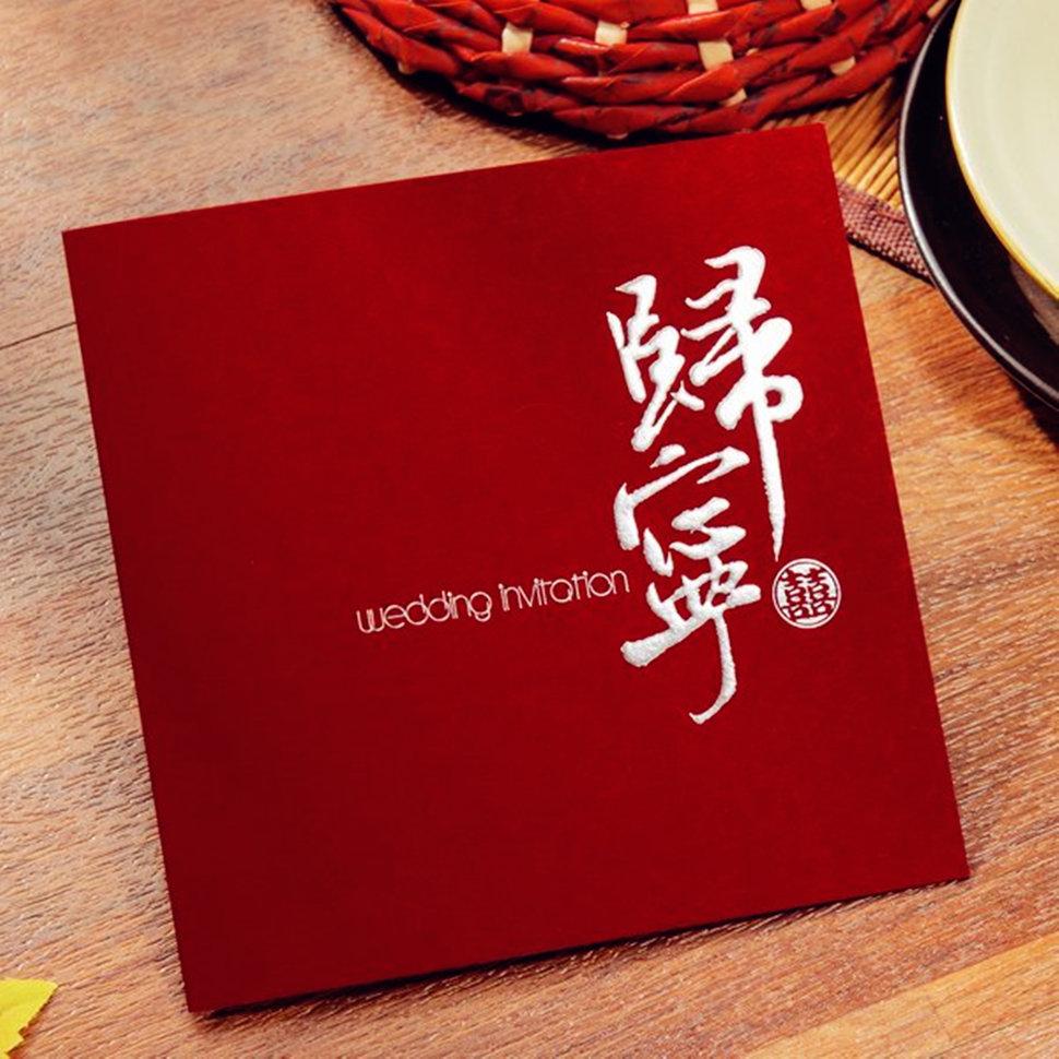 【燙金歸寧喜帖、平價喜帖、長輩帖、平輩帖】 - 沁琳創意小物 禮俗用品/活動禮/贈品《結婚吧》