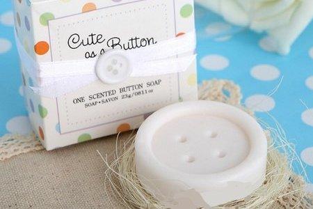 超人氣 鈕扣香皂、婚禮小物、迎賓禮