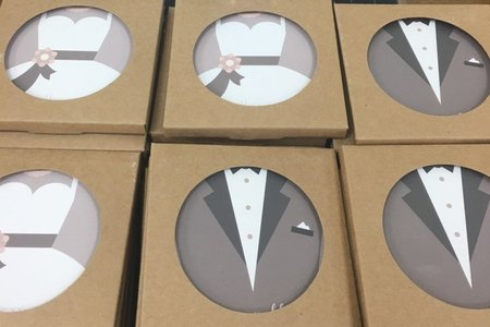 吸水杯墊/含印刷附盒子 由MIT所設計製