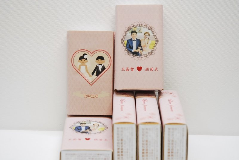 甜蜜森永牛奶糖 專屬個人化婚禮牛奶糖