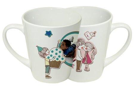 SGS檢驗合格馬克杯 獨家拿鐵小斜杯