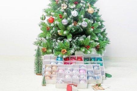 聖誕吊飾球 耶誕樹吊飾球盒裝 聖誕球吊飾