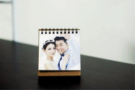 高級3D列印 月曆 個性化商品 照片 婚