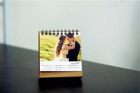 高級3D列印 月曆 個性化商品 照片 年終回饋燒品優惠特價
