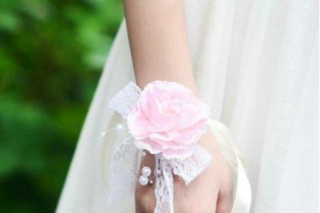 新娘手腕花 伴娘手腕花 派對手腕花 舞蹈用手腕花