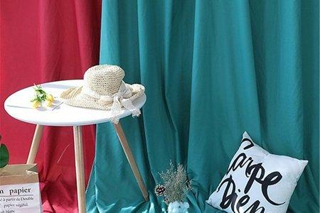 [台灣現貨]會場佈置 小資女佈置專用 婚宴餐廳 網路直播 拍照攝影 單色中號背景布 拍照道具 (240*200cm)
