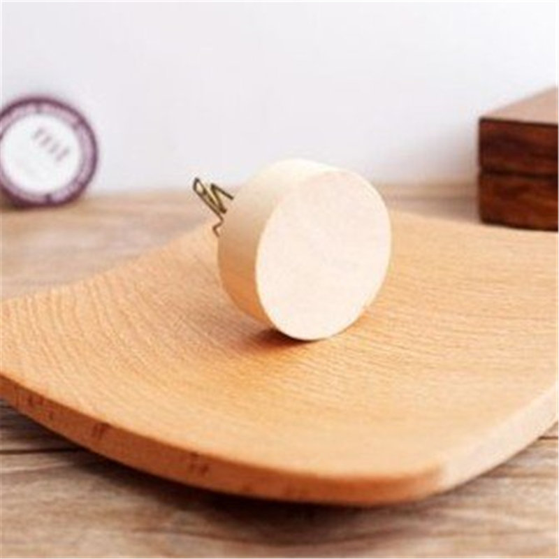 日式天然木鐵藝 Wood memo可愛造