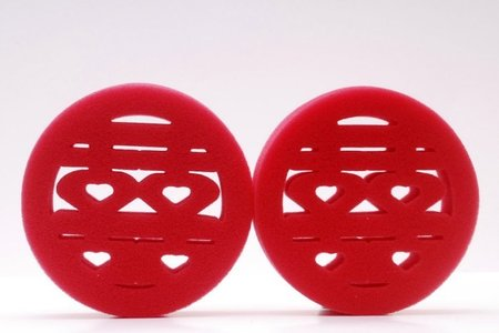 MIT設計製造 特惠價~限量熱銷中 喜字沐浴海綿