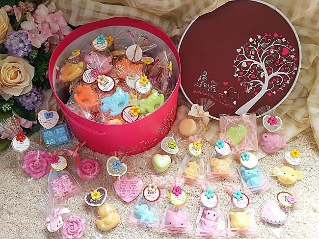沁琳2017年承接可愛手皂單顆糖果禮盒