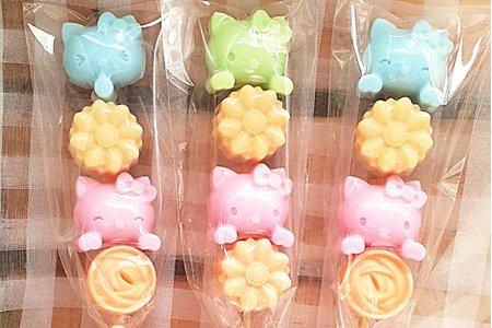 🎀 限時防疫專可愛糖果手工香皂棒棒糖串