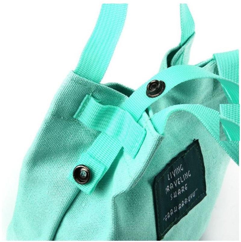 韓國 字母帆布包 可愛文青日系 斜挎單肩