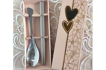 💕已完售💕愛心湯匙筷子組禮盒